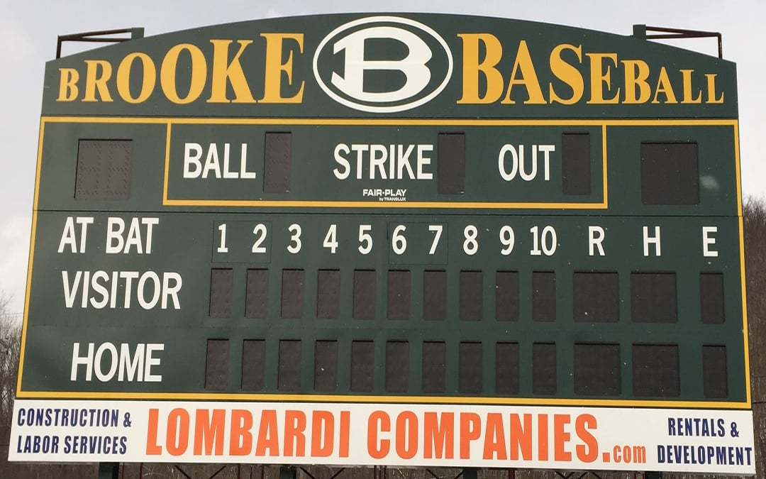 Brooke High School Scoreboards