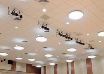 WVU Mountainlair Ballroom Ceilings-39f