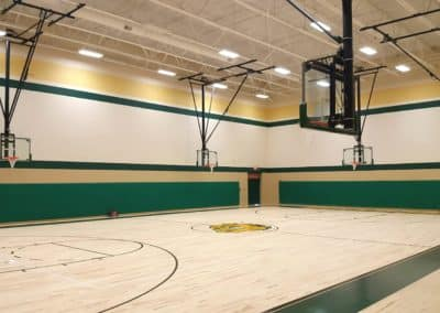 Doddridge County High School Auxiliary Gym